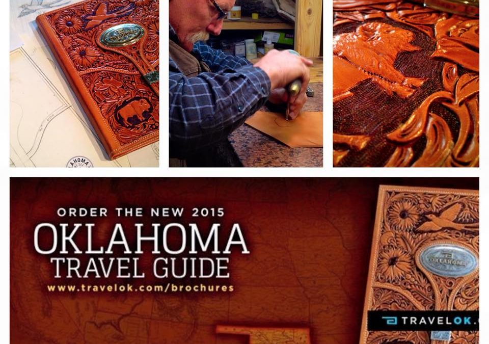 2015 Oklahoma Travel Guide Features Art of John Rule